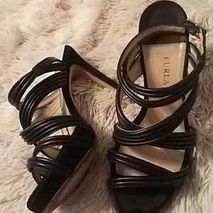 Furla ankle strappy sexy sandals